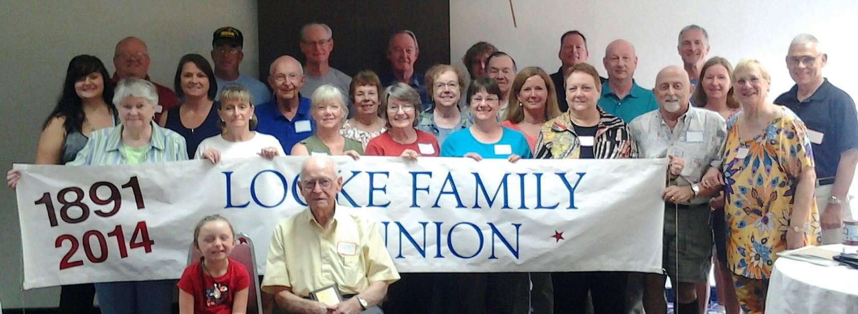 2014 Locke Family Association Reunion Gettysburg PA