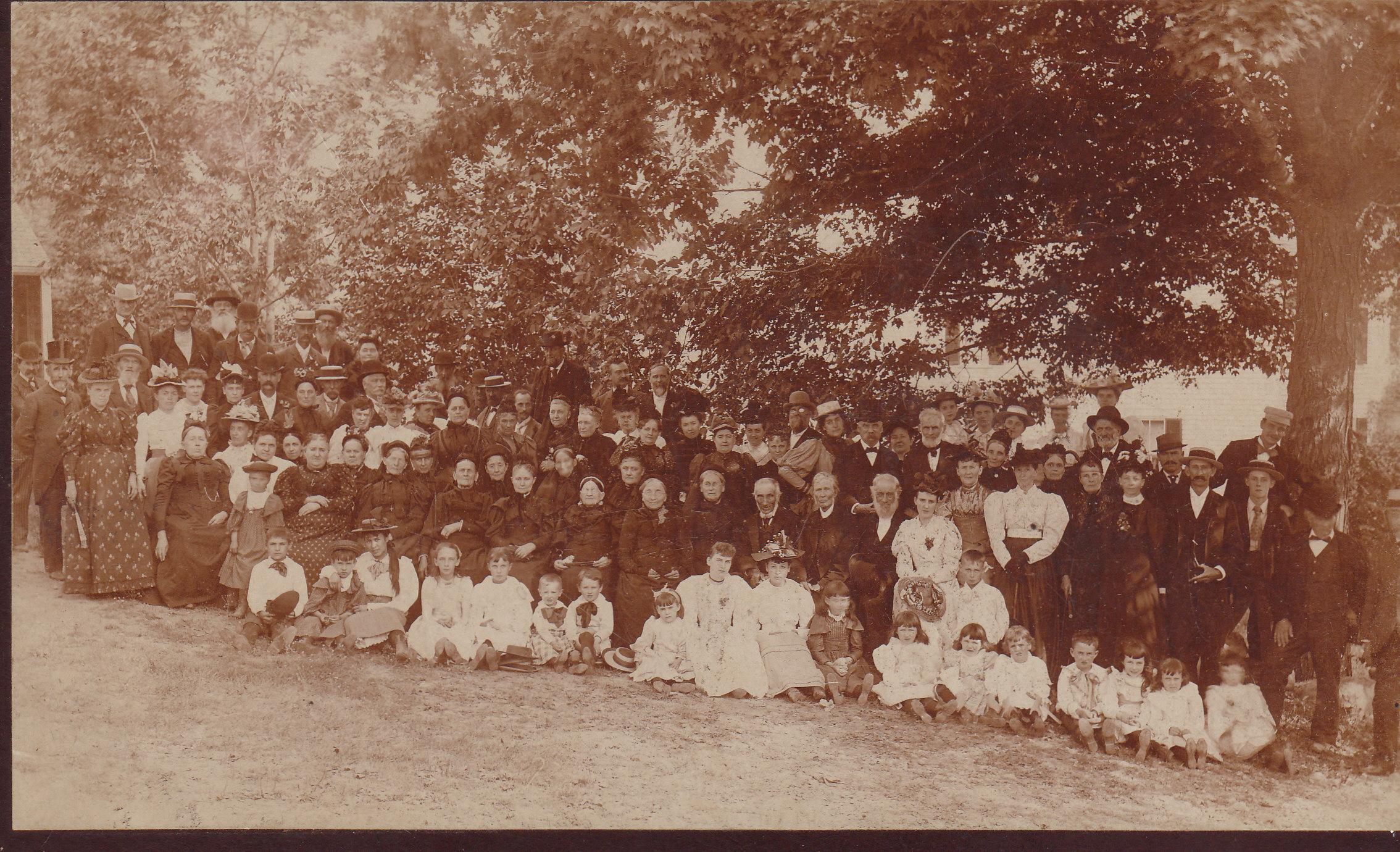 Locke Family Reunion Rye NH 1894