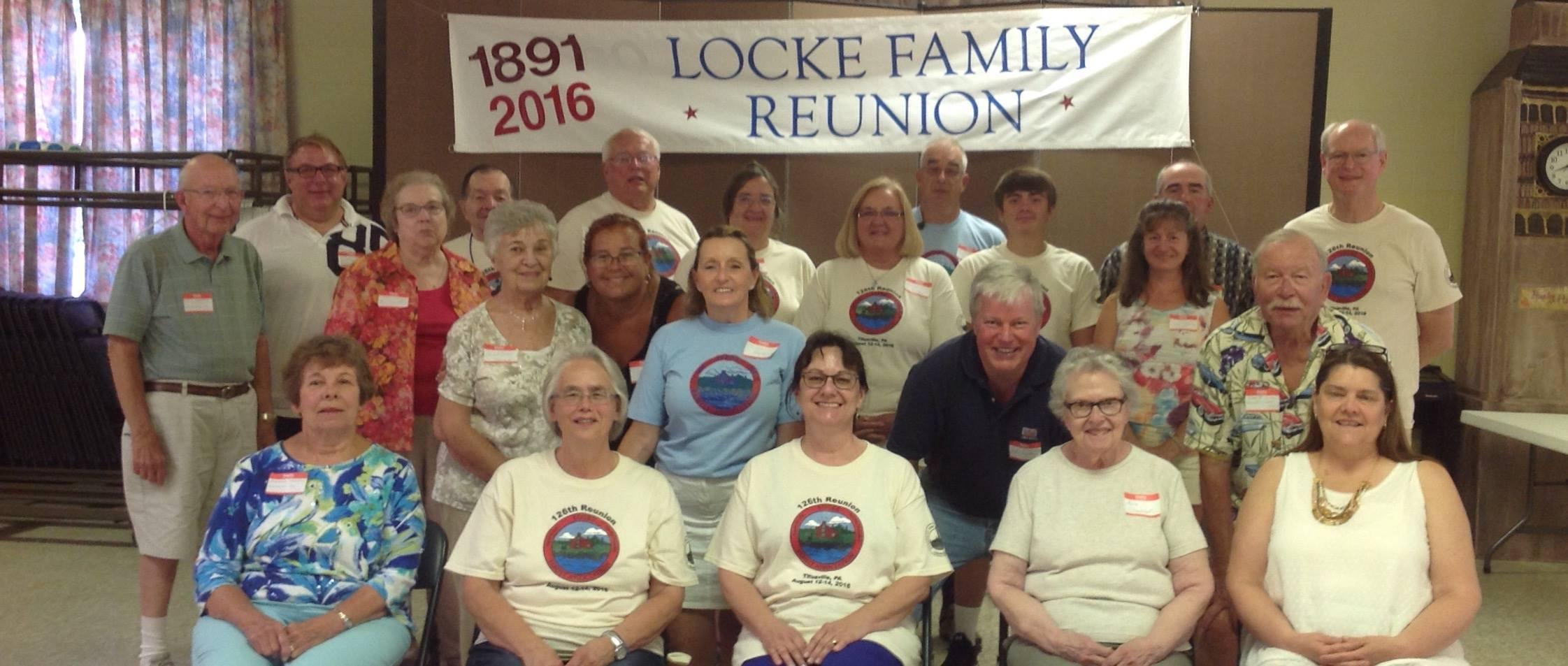2016 Reunion Titusville PA